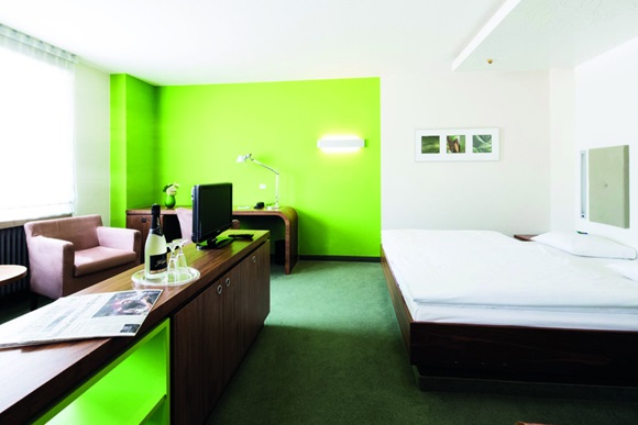 Hotel Global Inn Zimmer