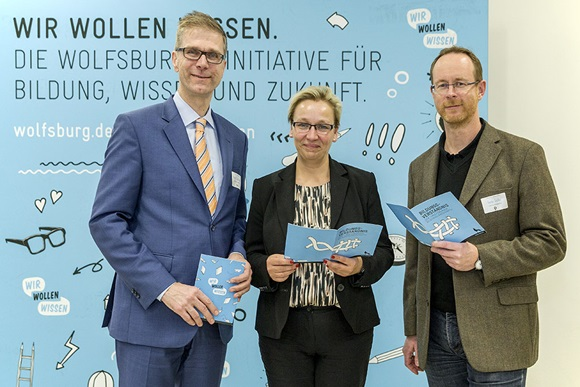 von links: Hans Jablonski, Iris Bothe, Guido Stolle