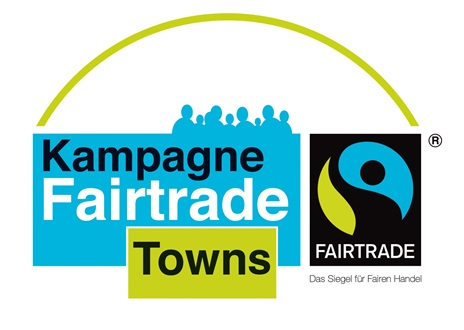Das Logo zur Aktion ''Kampagne Fairtrade Towns''