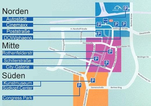 Stadt Wolfsburg Parken in Wolfsburg
