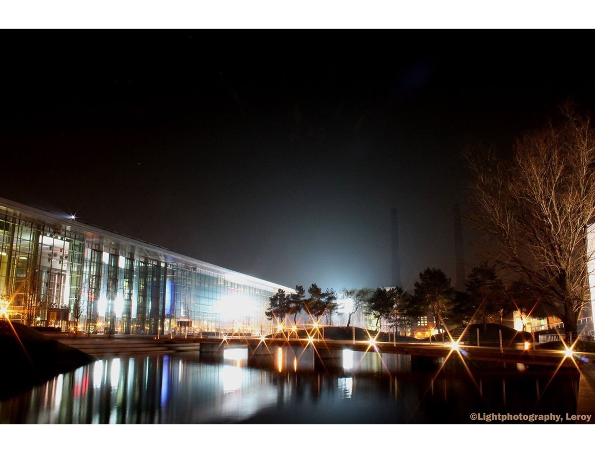 Autostadt at Night