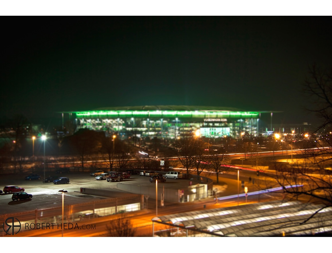 Stadion @ night mal anders!